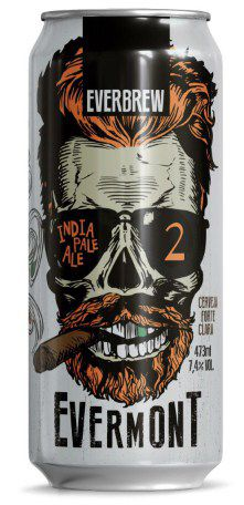 Everbrew Evermont 2 Lata 473ml Ne IPA