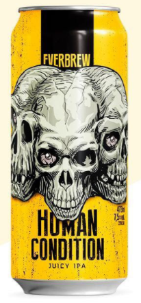 Everbrew Human Condition Lata 473ml Juicy IPA