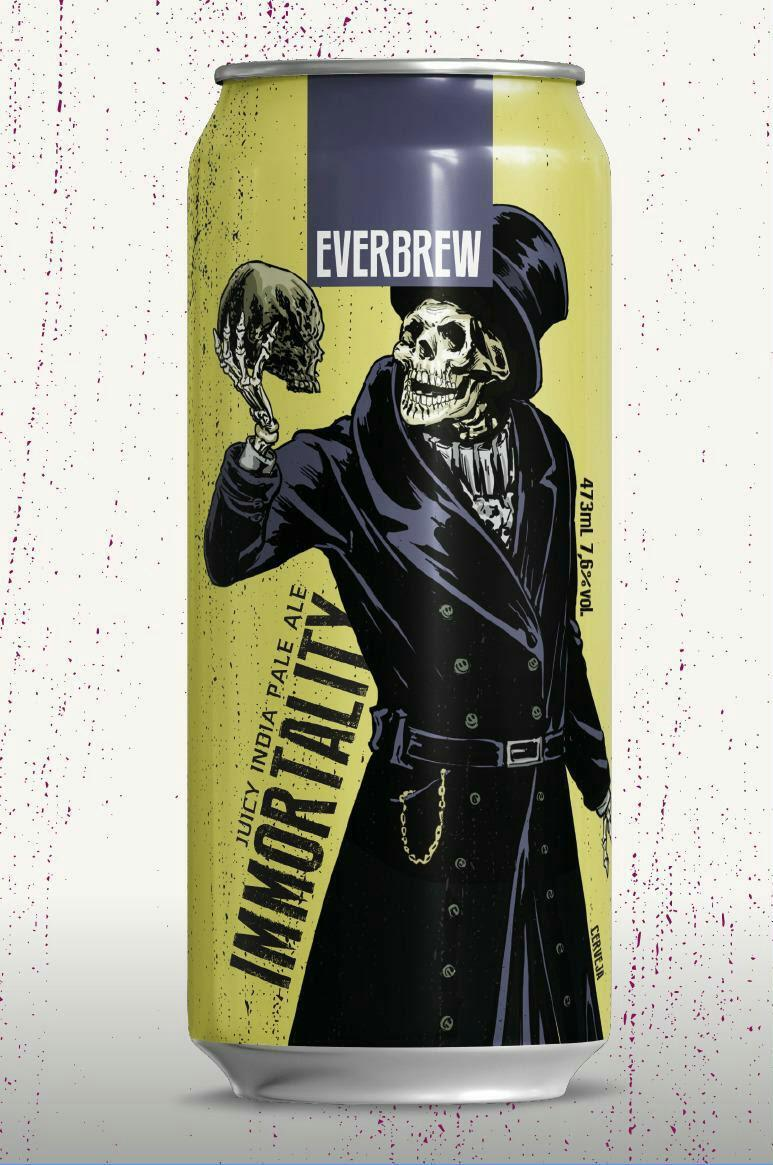 Everbrew Immortality 473 ml Juicy IPA