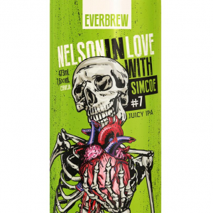 Everbrew Nelson In Love With Simcoe #7 Lata 473ml Juicy IPA