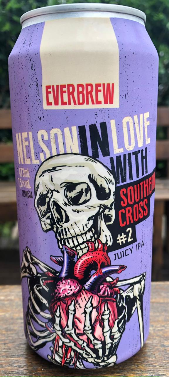 Everbrew Nelson In Love With Southern Cross Lata 473ml Juicy IPA
