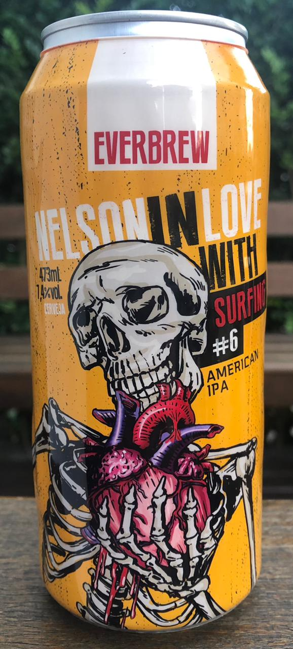 Everbrew Nelson In Love With Surfing #6 Lata 473ml American IPA