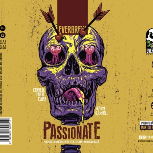 Everbrew Passionate Lata 473ml Sour American IPA