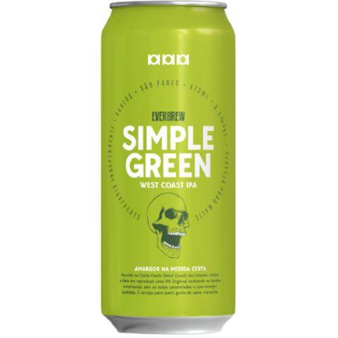 Everbrew Simple Green Lata 473ml - West Coast Ipa