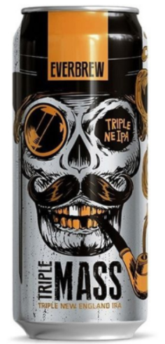 Everbrew Triple Mass Lata 473ml Triple NE IPA
