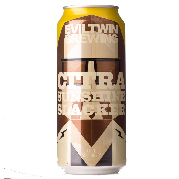 Eviltwin Citra Sunshine Slacker Lata 473ml Session IPA