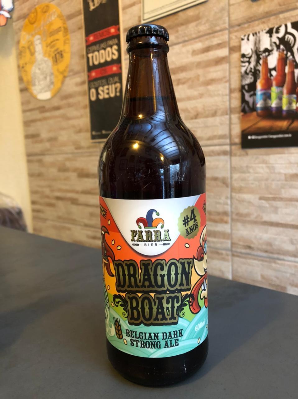 Farra Dragon Boat 600ml - Belgian Dark Strong Ale