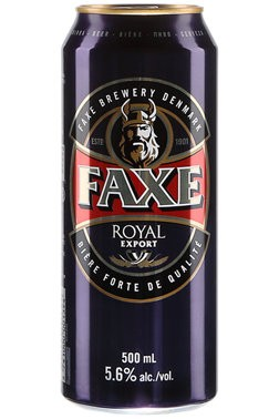 Faxe Royal Export 500ml Premium Lager