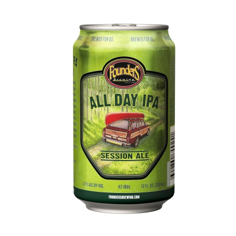 Founders All Day IPA Lata 355ml
