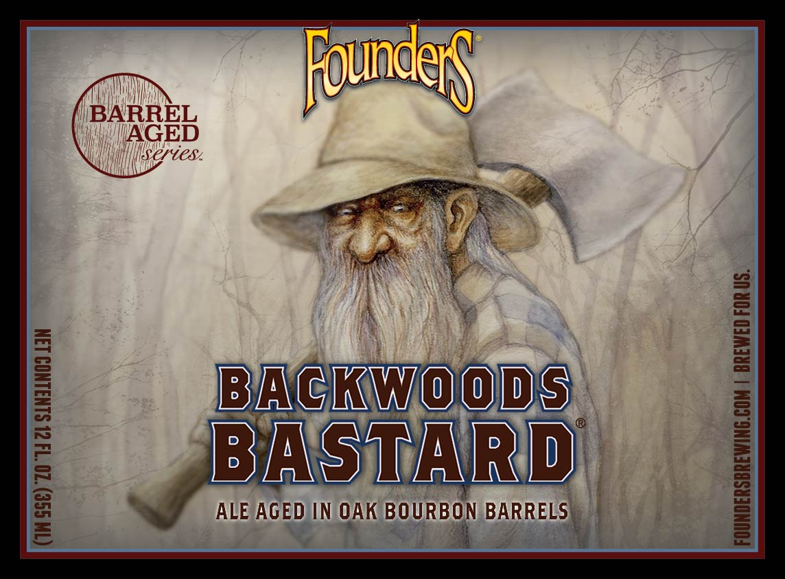 Founders Backwoods Bastard 355ml Scotch Ale BA