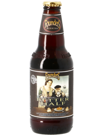 Founders Curmudgeon's Better Half 355ml Old Ale Bourbon Barrel Aged