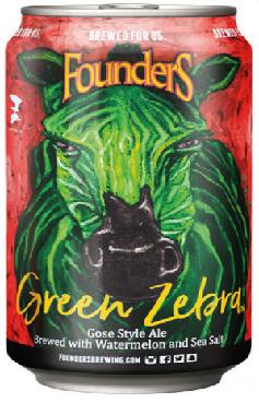 Founders Green Zebra Lata355ml Gose com Melancia e Sal Marinho