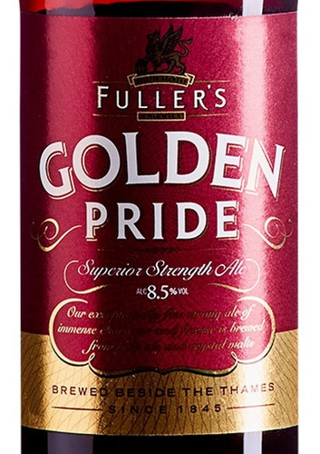 Fullers Golden Pride -  500ml - Superior Strength Ale