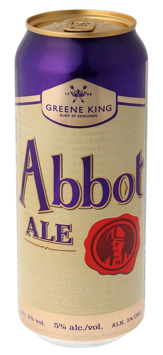 Greene King Abbot Ale Lata 500ml Bitter