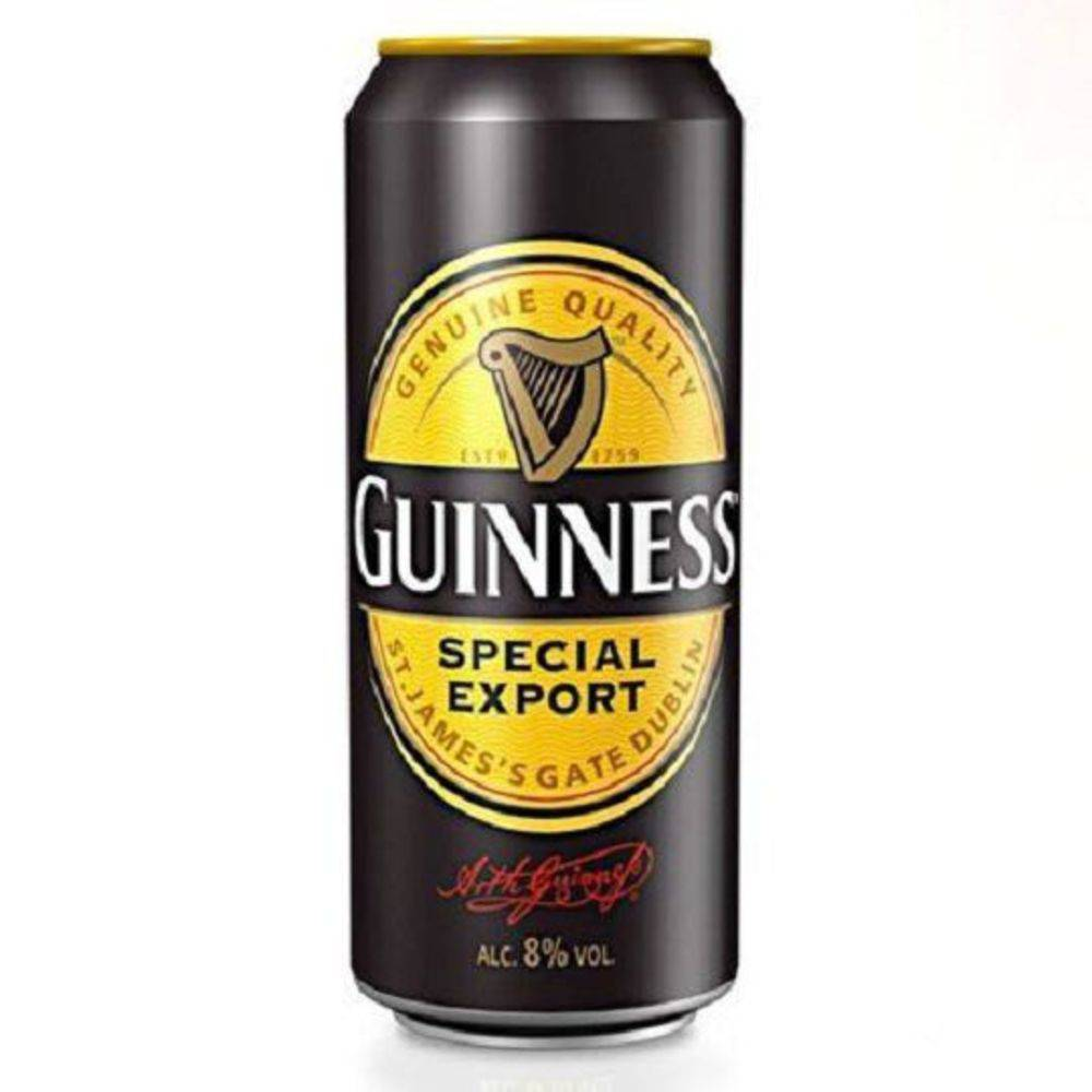 GUINNESS SPECIAL EXPORT 500ML FOREIGN STOUT