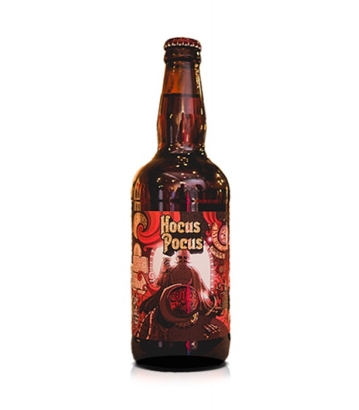 Hocus Pocus Coffee Hush 500ml Amber Ale