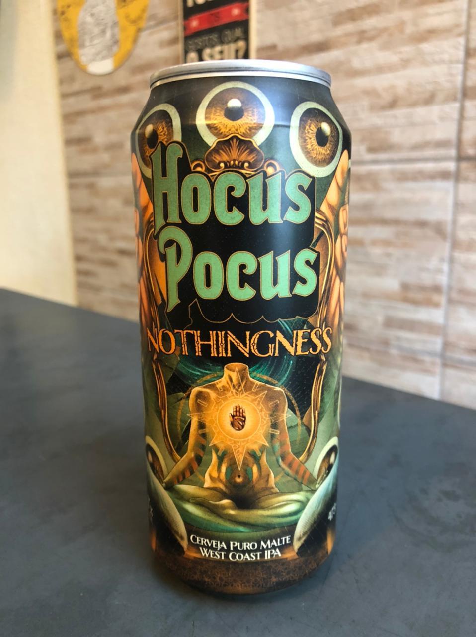 Hocus Pocus Nothingness Lata 473ml - West Coast IPA