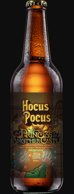 Hocus Pocus Princess Is In Another Casle 355ml Berliner Weiss