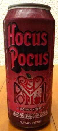 Hocus Pocus Red Potion Lata 473ml Berliner Weisse com amora, morango e framboesa