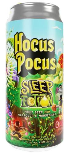 Hocus Pocus Sleep Potion Lata 473ml Fruit Beer com Maracujá e Manjericão
