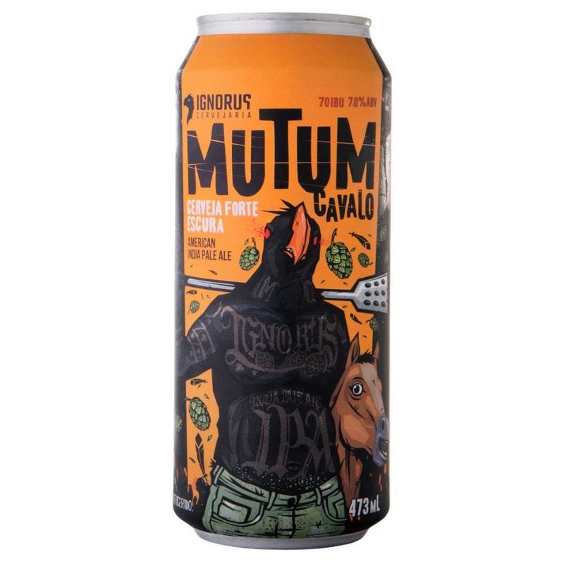 Ignorus Mutum Cavalo - Lata 473ml - American India Pale Ale