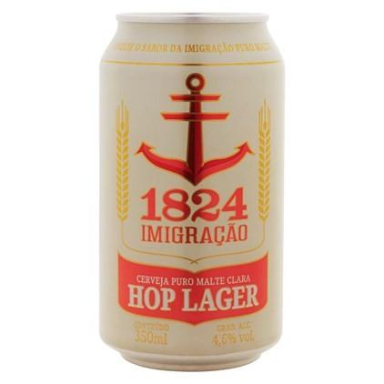 Imigração 1824 Hop Lager Lata 350ml