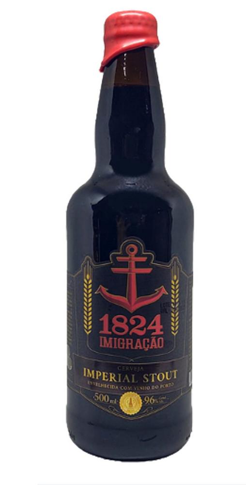 Imigração 1824 - Imperial Stout envelhecida com vinho do porto - 500ml