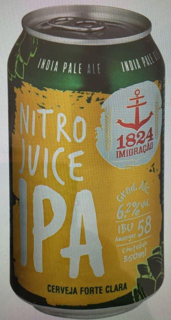 Imigração Nitro Juice IPA Lata 350ml