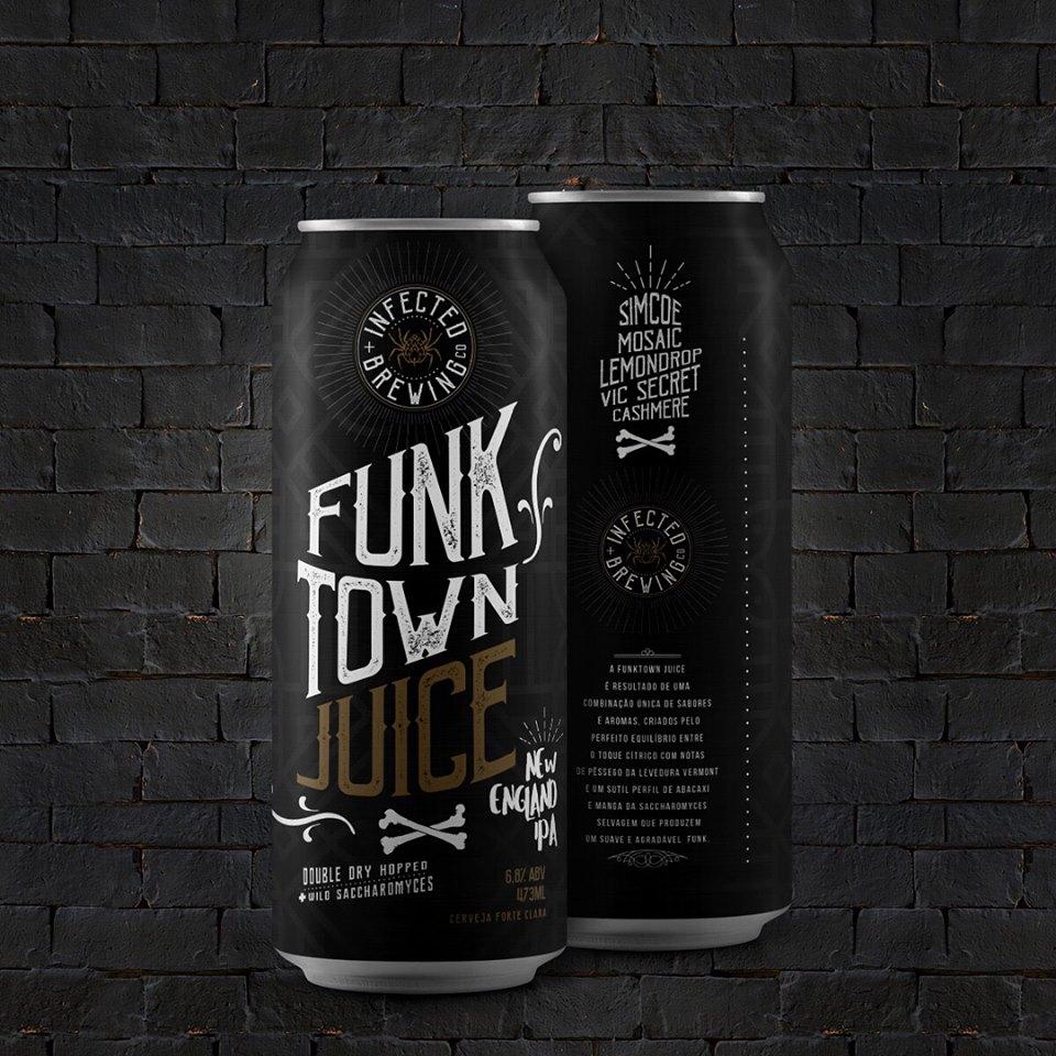 Infected Funk Town Juice Lata 473ml NE IPA