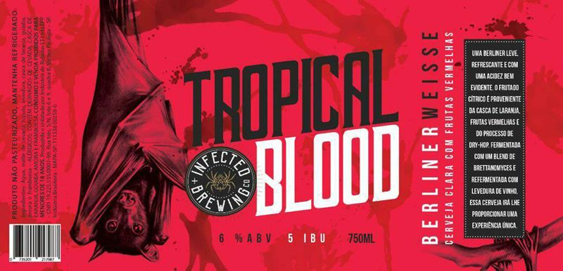 Infected Tropical Blood 750ml Berliner Weisse