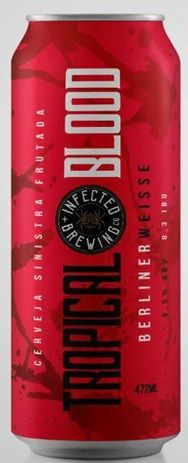 Infected Tropical Blood Lata 473ml Berliner Weisse