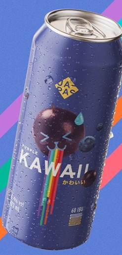 Japas Purple Kawaii Lata 473ml NE IPA c/ jabuticaba e Mirtilo