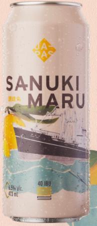 Japas Sanuki Maru Lata 473ml NE IPA com Yuzu