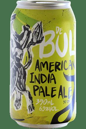 JBeer De Bull Lata 355ml American IPA