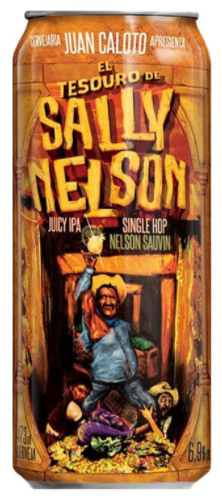 Juan Caloto El Tesouro de Sally Nelson 473ml Juicy IPA