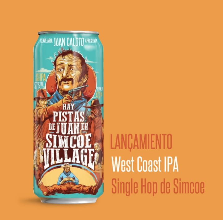 Juan Caloto Hay Pistas De Juan En Simcoe Village Lata 473ml - West Coast IPA