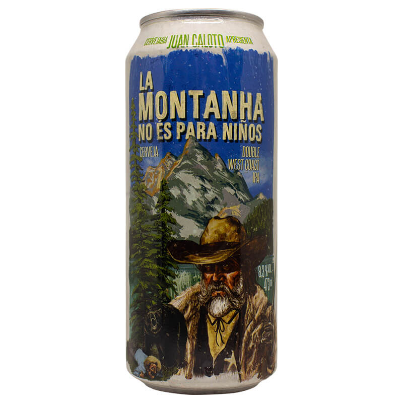 Juan Caloto La Montanha No És Para Ninos 473ml Double West Coast IPA