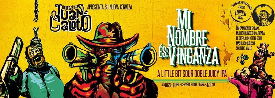 Juan Caloto Mi Nombre és Vinganza Lata 473ml