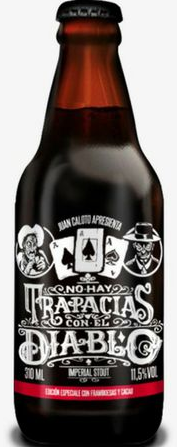Juan Caloto No Hay Trapacias Con El Diablo 310ml RIS c/ Framboesa e Cacau