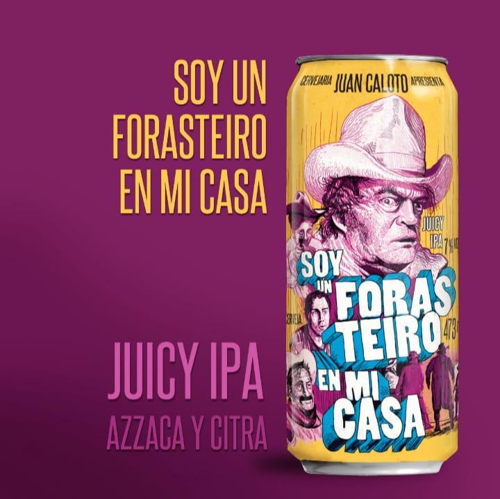 Juan Caloto Soy Un Forasteiro En Mi Casa Lata 473ml - Juicy IPA