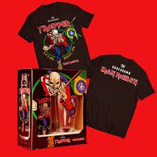 Kit Bodebrown Iron Maiden  Trooper  IPA Lata  473ml  + Copo + Camisa oficial
