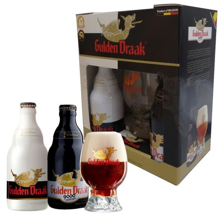 Kit Gulden Draak 2 Garrafas 330ml + Copo