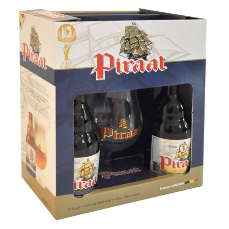 Kit Piraat 2 Garrafas 330ml + Taça