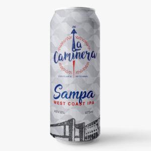 La Caminera Sampa Lata 473ml West Coast IPA