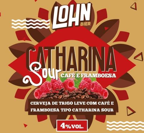 Lohn Catharina Sour Café e Framboesa 330ML