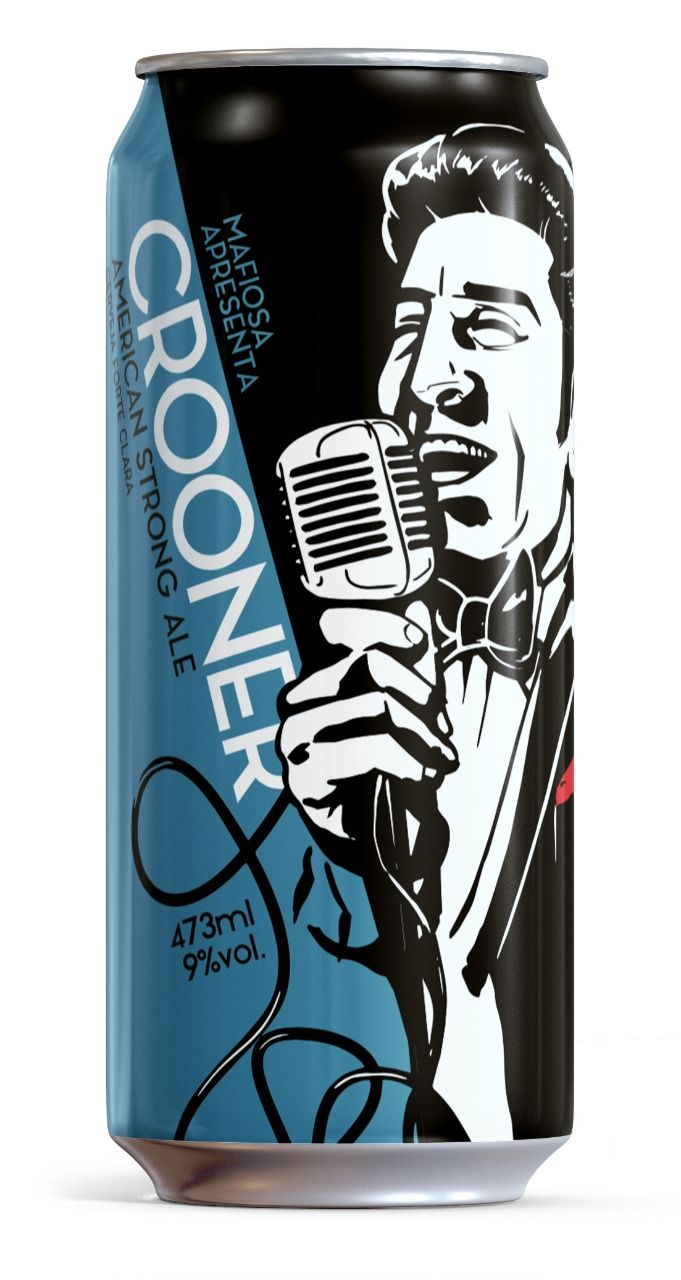 Mafiosa Crooner Lata 473ml American Strong Ale