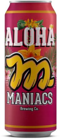 Maniacs Aloha American Pale Ale Lata 473ml