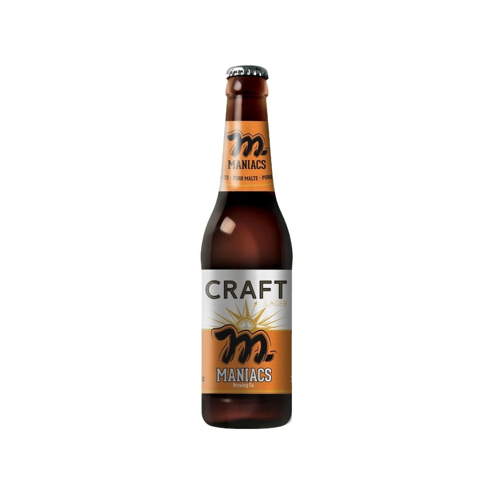 Maniacs Craft Lager 355ml