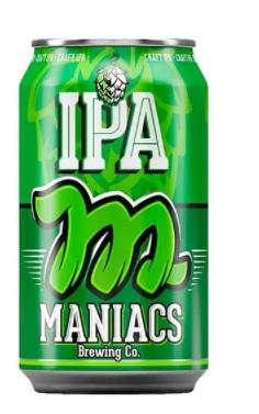 Maniacs IPA Lata 350ml