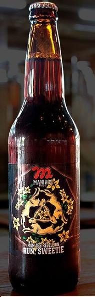 Maniacs Rebellion Run Sweetie 600ml Strong Dark Ale